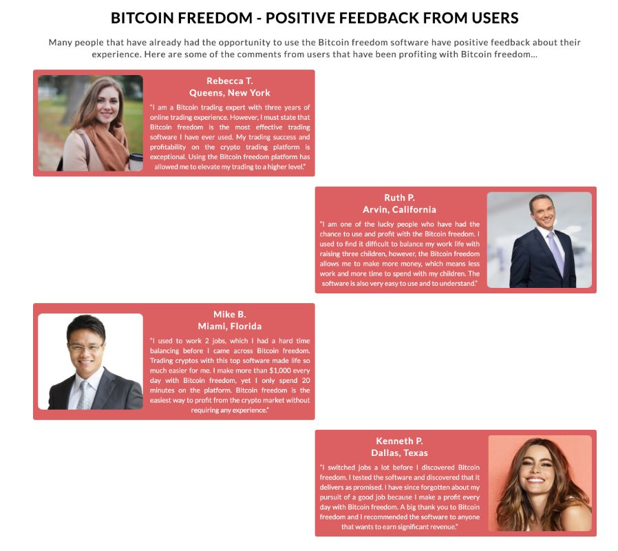 Bitcoin Freedom success