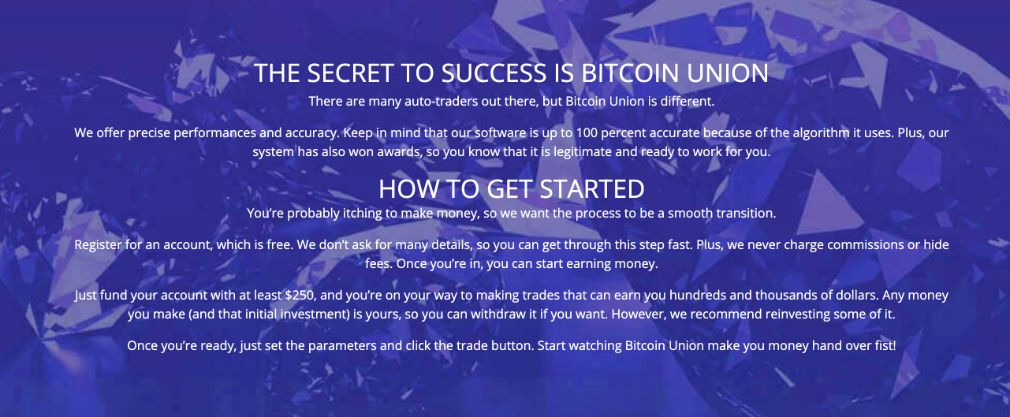 Bitcoin Union how it works